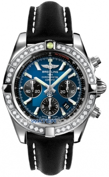 Breitling Chronomat 44 Mens watch, model number - ab011053/c789-1lt, discount price of £9,170.00 from The Watch Source