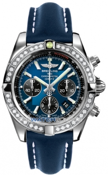 Breitling Chronomat 44 Mens watch, model number - ab011053/c789-3ld, discount price of £9,340.00 from The Watch Source