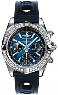 Breitling Chronomat 44 Mens watch, model number - ab011053/c789-3or, discount price of £9,340.00 from The Watch Source