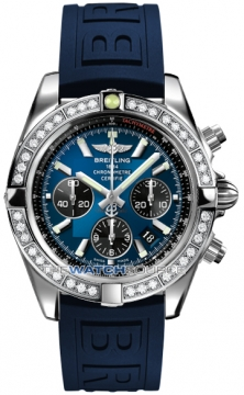 Breitling Chronomat 44 Mens watch, model number - ab011053/c789-3pro3t, discount price of £9,120.00 from The Watch Source