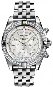 Breitling Chronomat 44 Mens watch, model number - ab011053/g684-ss, discount price of £9,960.00 from The Watch Source