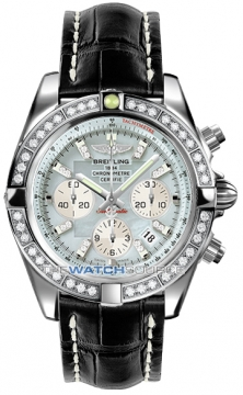 Breitling Chronomat 44 Mens watch, model number - ab011053/g686-1ct, discount price of £11,250.00 from The Watch Source