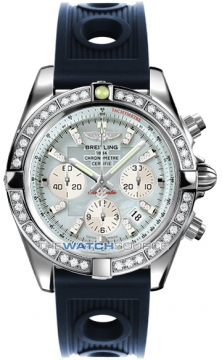 Breitling Chronomat 44 Mens watch, model number - ab011053/g686-3or, discount price of £11,110.00 from The Watch Source