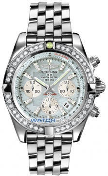 Breitling Chronomat 44 Mens watch, model number - ab011053/g686-ss, discount price of £11,780.00 from The Watch Source
