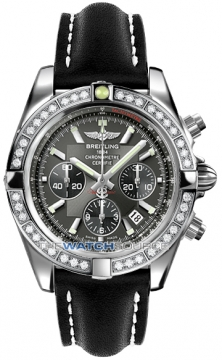 Breitling Chronomat 44 Mens watch, model number - ab011053/m524-1lt, discount price of £9,170.00 from The Watch Source