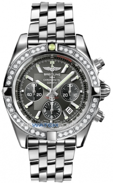 Breitling Chronomat 44 Mens watch, model number - ab011053/m524-ss, discount price of £9,960.00 from The Watch Source