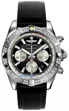 Breitling Chronomat 44 Mens watch, model number - ab0110aa/b967-1pro2d, discount price of £7,630.00 from The Watch Source