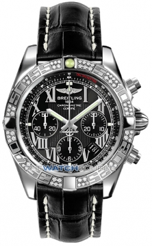 Breitling Chronomat 44 Mens watch, model number - ab0110aa/b956-1ct, discount price of £7,750.00 from The Watch Source