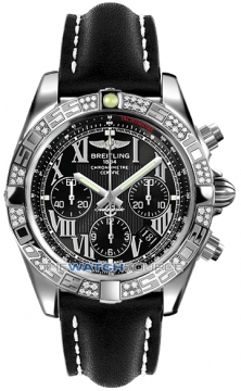 Breitling Chronomat 44 Mens watch, model number - ab0110aa/b956-1ld, discount price of £7,620.00 from The Watch Source