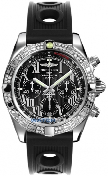 Breitling Chronomat 44 Mens watch, model number - ab0110aa/b956-1or, discount price of £7,620.00 from The Watch Source
