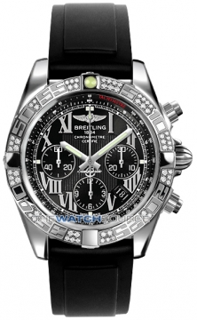 Breitling Chronomat 44 Mens watch, model number - ab0110aa/b956-1pro2t, discount price of £7,430.00 from The Watch Source