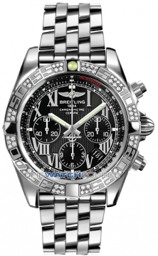 Breitling Chronomat 44 Mens watch, model number - ab0110aa/b956-ss, discount price of £8,280.00 from The Watch Source