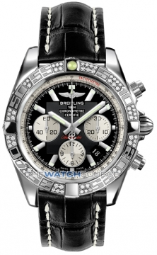 Breitling Chronomat 44 Mens watch, model number - ab0110aa/b967-1ct, discount price of £7,750.00 from The Watch Source
