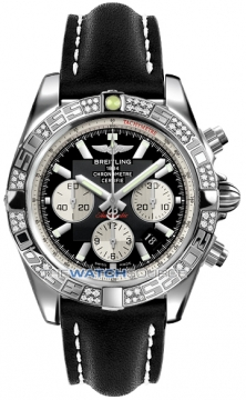 Breitling Chronomat 44 Mens watch, model number - ab0110aa/b967-1lt, discount price of £7,490.00 from The Watch Source