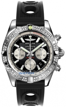 Breitling Chronomat 44 Mens watch, model number - ab0110aa/b967-1or, discount price of £7,620.00 from The Watch Source