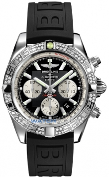 Breitling Chronomat 44 Mens watch, model number - ab0110aa/b967-1pro3t, discount price of £7,440.00 from The Watch Source