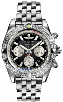 Breitling Chronomat 44 Mens watch, model number - ab0110aa/b967-ss, discount price of £8,280.00 from The Watch Source