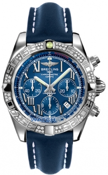 Breitling Chronomat 44 Mens watch, model number - ab0110aa/c783-3ld, discount price of £7,620.00 from The Watch Source