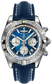 Breitling Chronomat 44 Mens watch, model number - ab0110aa/c788-3ld, discount price of £7,620.00 from The Watch Source