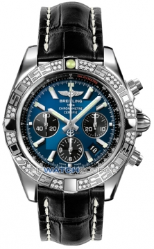 Breitling Chronomat 44 Mens watch, model number - ab0110aa/c789-1cd, discount price of £7,880.00 from The Watch Source