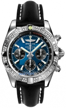 Breitling Chronomat 44 Mens watch, model number - ab0110aa/c789-1lt, discount price of £7,490.00 from The Watch Source