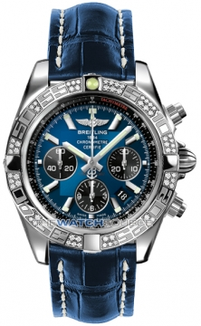 Breitling Chronomat 44 Mens watch, model number - ab0110aa/c789-3ct, discount price of £7,750.00 from The Watch Source