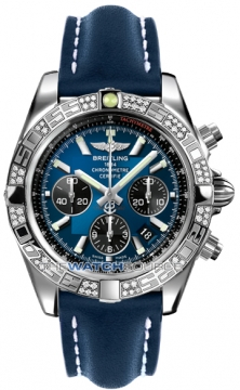 Breitling Chronomat 44 Mens watch, model number - ab0110aa/c789-3ld, discount price of £7,620.00 from The Watch Source