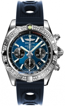 Breitling Chronomat 44 Mens watch, model number - ab0110aa/c789-3or, discount price of £7,620.00 from The Watch Source