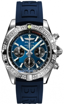 Breitling Chronomat 44 Mens watch, model number - ab0110aa/c789-3pro3t, discount price of £7,440.00 from The Watch Source