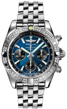 Breitling Chronomat 44 Mens watch, model number - ab0110aa/c789-ss, discount price of £8,280.00 from The Watch Source