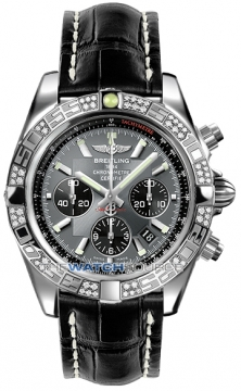 Breitling Chronomat 44 Mens watch, model number - ab0110aa/f546-1cd, discount price of £7,880.00 from The Watch Source