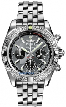 Breitling Chronomat 44 Mens watch, model number - ab0110aa/f546-ss, discount price of £8,280.00 from The Watch Source