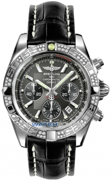 Breitling Chronomat 44 Mens watch, model number - ab0110aa/m524-1cd, discount price of £7,880.00 from The Watch Source