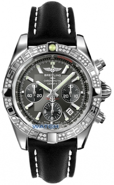 Breitling Chronomat 44 Mens watch, model number - ab0110aa/m524-1lt, discount price of £7,490.00 from The Watch Source