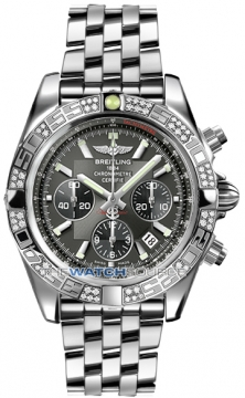 Breitling Chronomat 44 Mens watch, model number - ab0110aa/m524-ss, discount price of £8,280.00 from The Watch Source