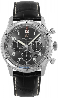 Buy this new Breitling Aviator 8 B01 Chronograph 43 ab0119131b1p2 mens watch for the discount price of £5,038.00. UK Retailer.