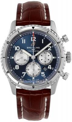 Buy this new Breitling Aviator 8 B01 Chronograph 43 ab0119131c1p2 mens watch for the discount price of £5,015.00. UK Retailer.