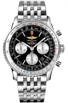 Breitling Navitimer 01 Mens watch, model number - ab012012/bb01-ss, discount price of £5,990.00 from The Watch Source