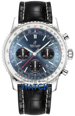 Breitling Navitimer 1 B01 Chronograph 43 ab0121211c1p1 watch