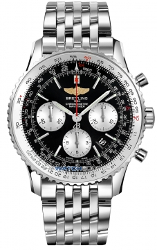 Breitling Navitimer 01 46mm Mens watch, model number - ab012721/bd09-ss, discount price of £6,400.00 from The Watch Source