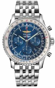 Breitling Navitimer 01 46mm Mens watch, model number - ab012721/c889-ss, discount price of £6,400.00 from The Watch Source