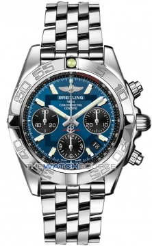 Breitling Chronomat 41 Mens watch, model number - ab014012/c830-ss, discount price of £5,990.00 from The Watch Source