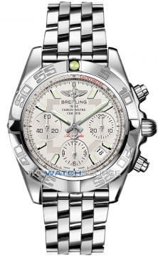 Breitling Chronomat 41 Mens watch, model number - ab014012/g711-ss, discount price of £5,990.00 from The Watch Source