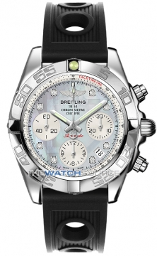 Breitling Chronomat 41 Mens watch, model number - ab014012/g712-1or, discount price of £5,850.00 from The Watch Source