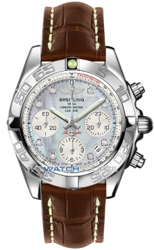 Breitling Chronomat 41 Mens watch, model number - ab014012/g712-2ct, discount price of £5,980.00 from The Watch Source