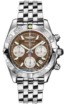 Breitling Chronomat 41 Mens watch, model number - ab014012/q583-ss, discount price of £5,990.00 from The Watch Source