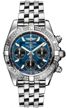 Breitling Chronomat 41 Mens watch, model number - ab0140aa/c830-ss, discount price of £8,310.00 from The Watch Source
