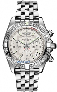 Breitling Chronomat 41 Mens watch, model number - ab0140aa/g711-ss, discount price of £8,310.00 from The Watch Source