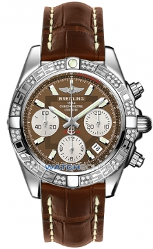 Breitling Chronomat 41 Mens watch, model number - ab0140aa/q583-2cd, discount price of £7,930.00 from The Watch Source