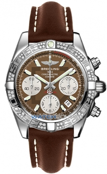 Breitling Chronomat 41 Mens watch, model number - ab0140aa/q583-2lt, discount price of £9,980.00 from The Watch Source